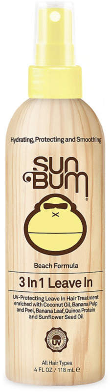 Sun Bum Beach Formula 3 In 1 Leave In Treatment