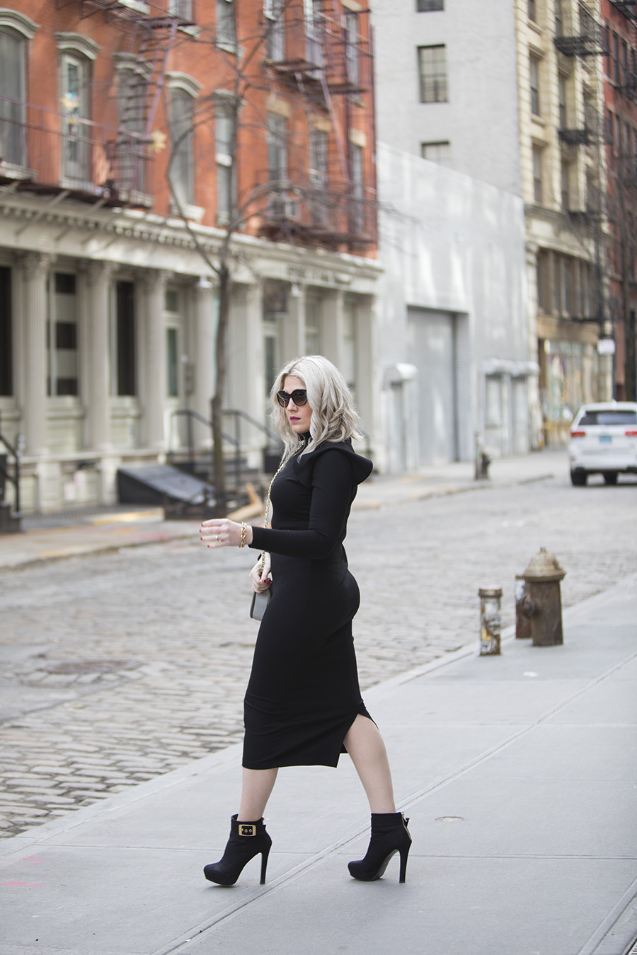 NYFW: A Little Black Dress for Winter