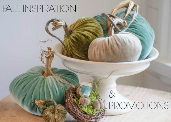 Turquoise Velvet Pumpkins