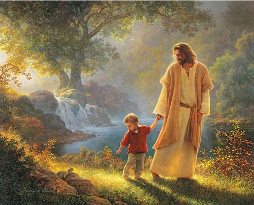 nu17 Jesus with child