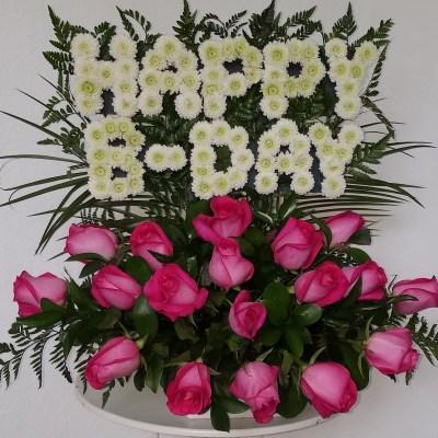 """""""Happy B-day"""" Flower Arrangement"""