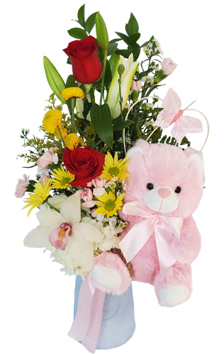 Colorful-Baby-Girl Flowers