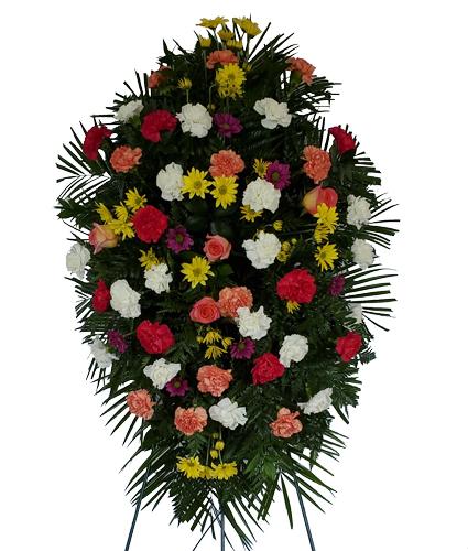 Spring Funeral Spray