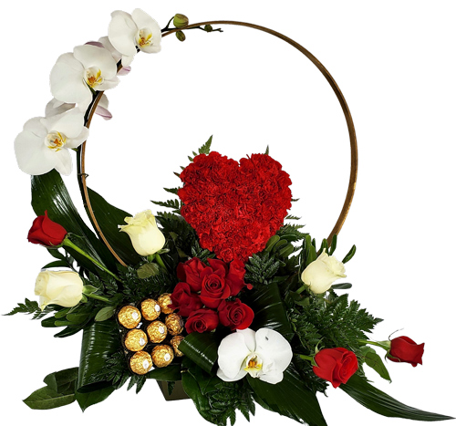 Cicle Of Love Luxury Flowers