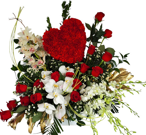 Love You More Luxury Flowers