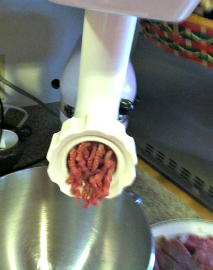 kitchen aid grinder industrial tables how to make home made ground meat | lovefoodies