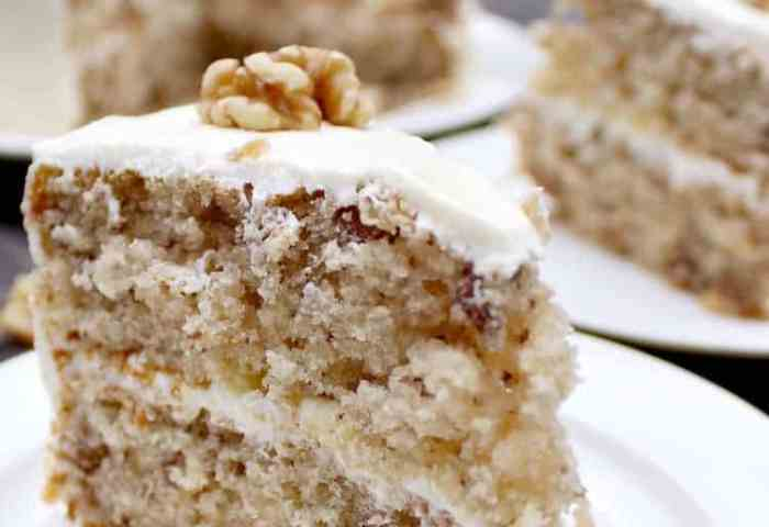 Walnut Cake Is A Delicious Easy Recipe The Cake Is So Soft And