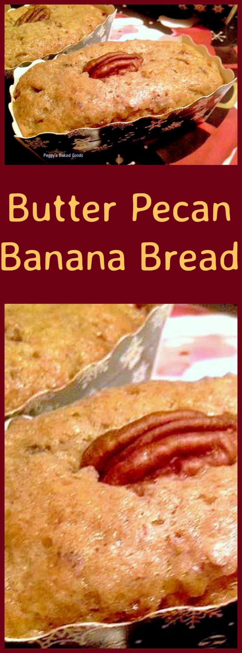 Butter Pecan Banana Bread Lovefoodies