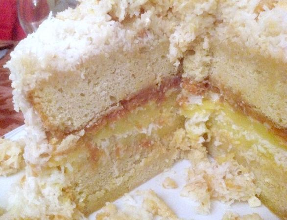 Coconut Cloud Layer Cake Lovefoodies