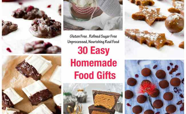 30 Homemade Food Gifts Easy To Make Love Food Nourish