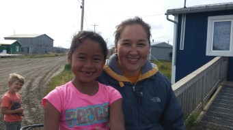 Our beautiful hosts and new-found friends, Dayna and her daughter, Mariah.