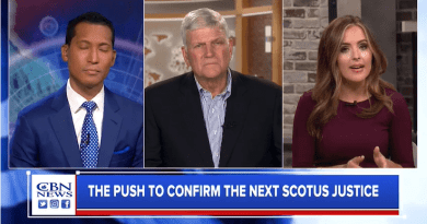 Franklin Graham Talks to CBN News About Saturday's Prayer March, the Election and the Supreme Court Battle