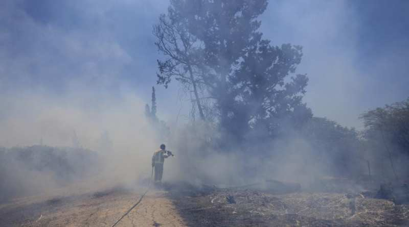 IDF Fighter Jets Hit Hamas Terror Targets in Response to Arson Balloon Fires