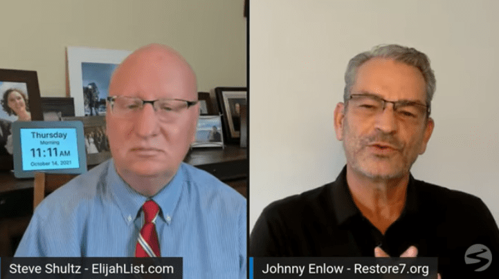 JOHNNY ENLOW: A VIEW FROM ABOVE! – ElijahStreams