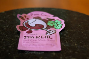 TonyMoly I'm real red wine mask pore care