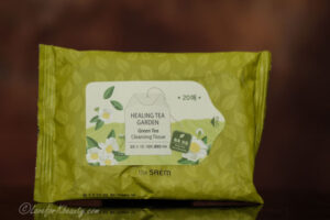 The Saem Healing tea garden cleansing tissue
