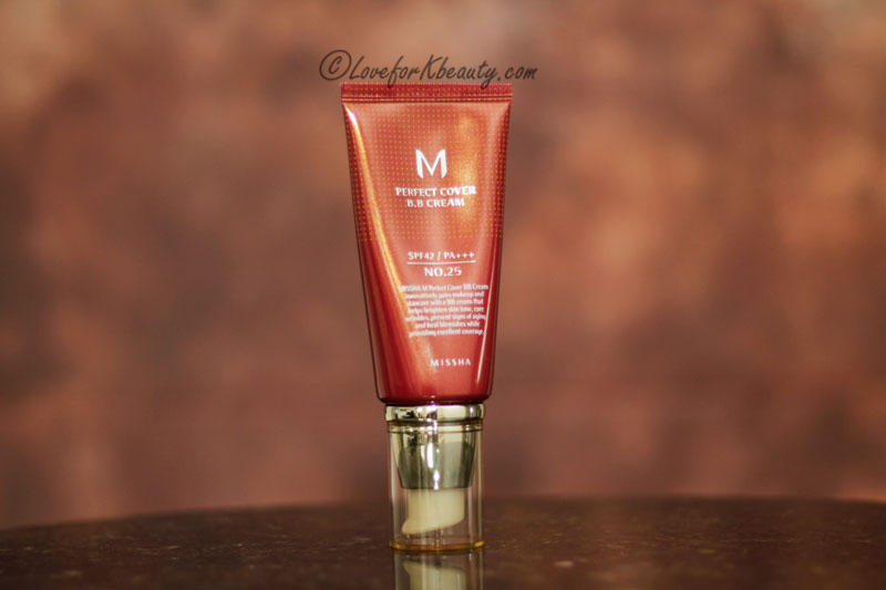 Missha Perfect Cover BB cream shade 25