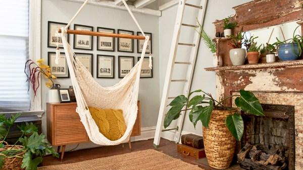 Hammock Swing White - Lifestyle