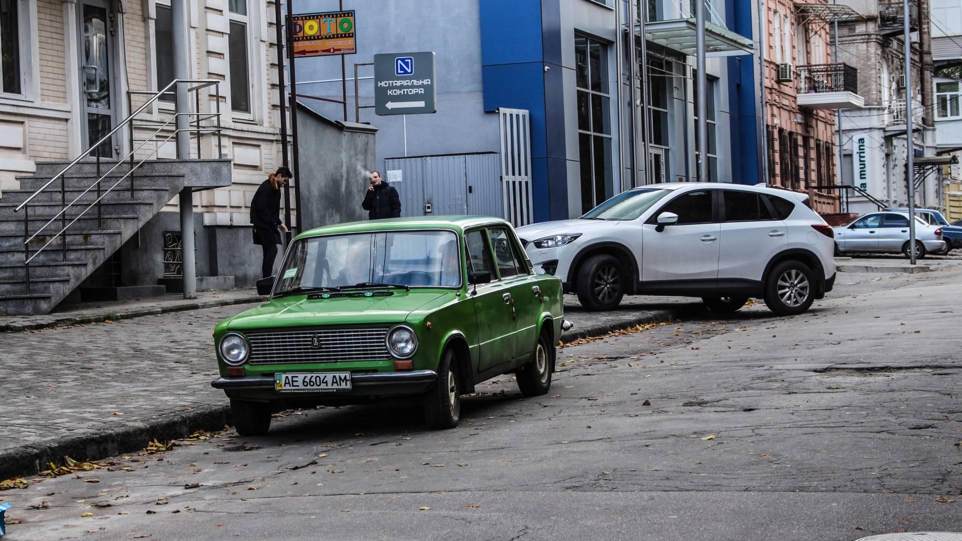 In der Ukraine zu Besuch