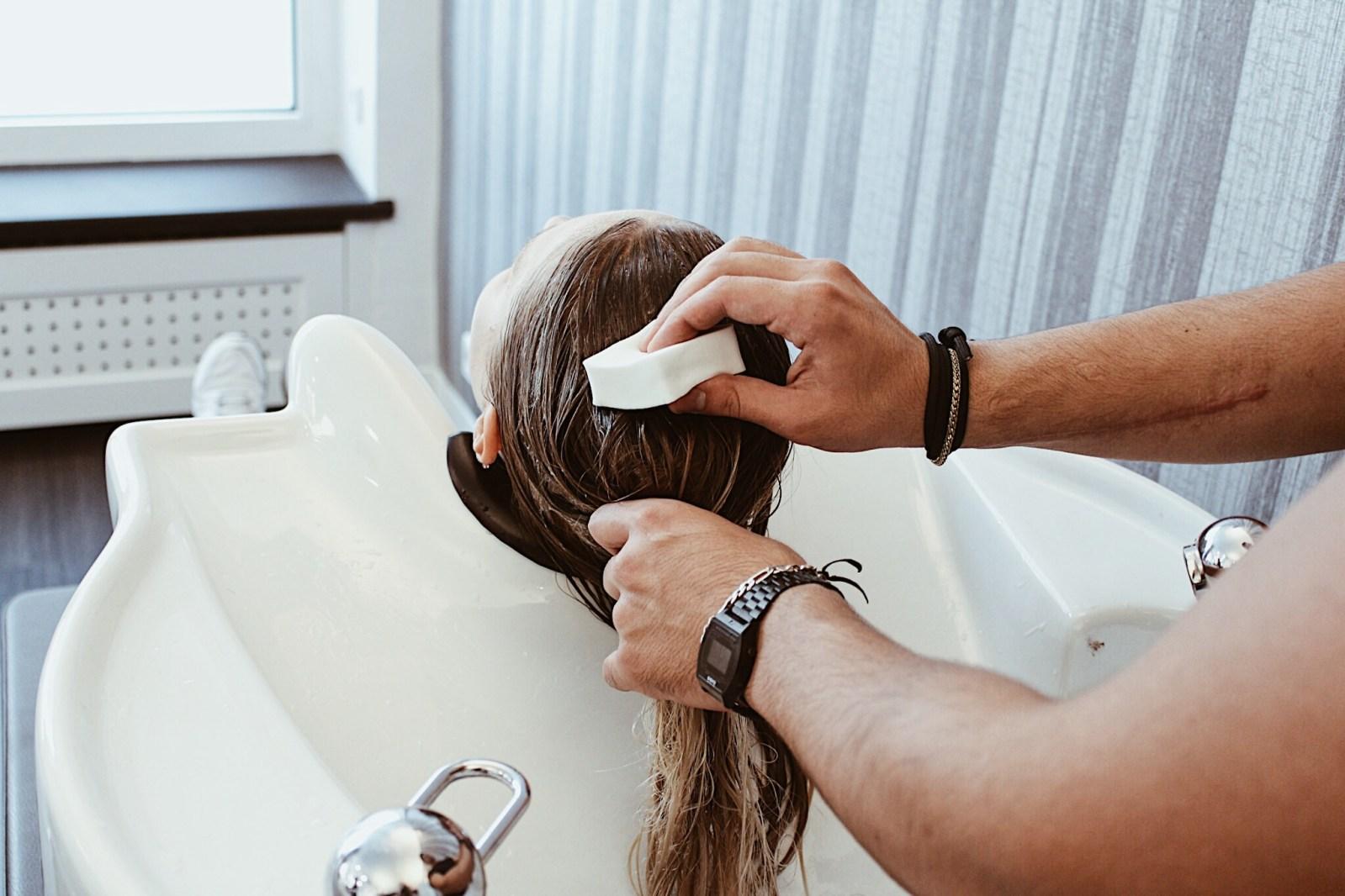 Fehler beim Haare waschen