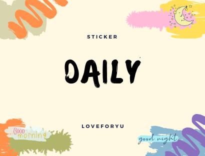 Daily Sticker