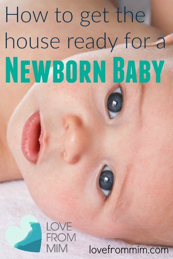How To Get The House Ready For a Newborn Baby  FREE Guide