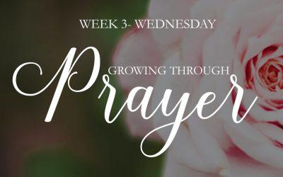 Choosing Prayer Over Worry