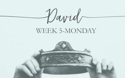 Week 5: David- The Friend