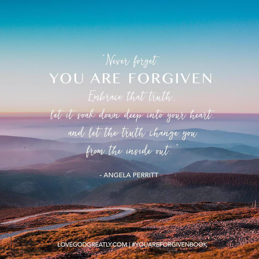 You Are Forgiven-Angela
