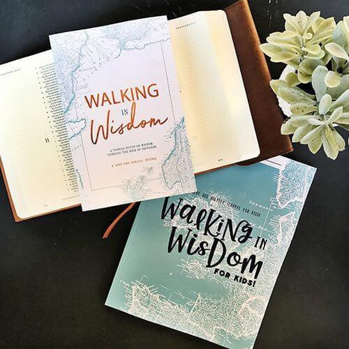 Walking in Wisdom- Proverbs Bible Study Journals