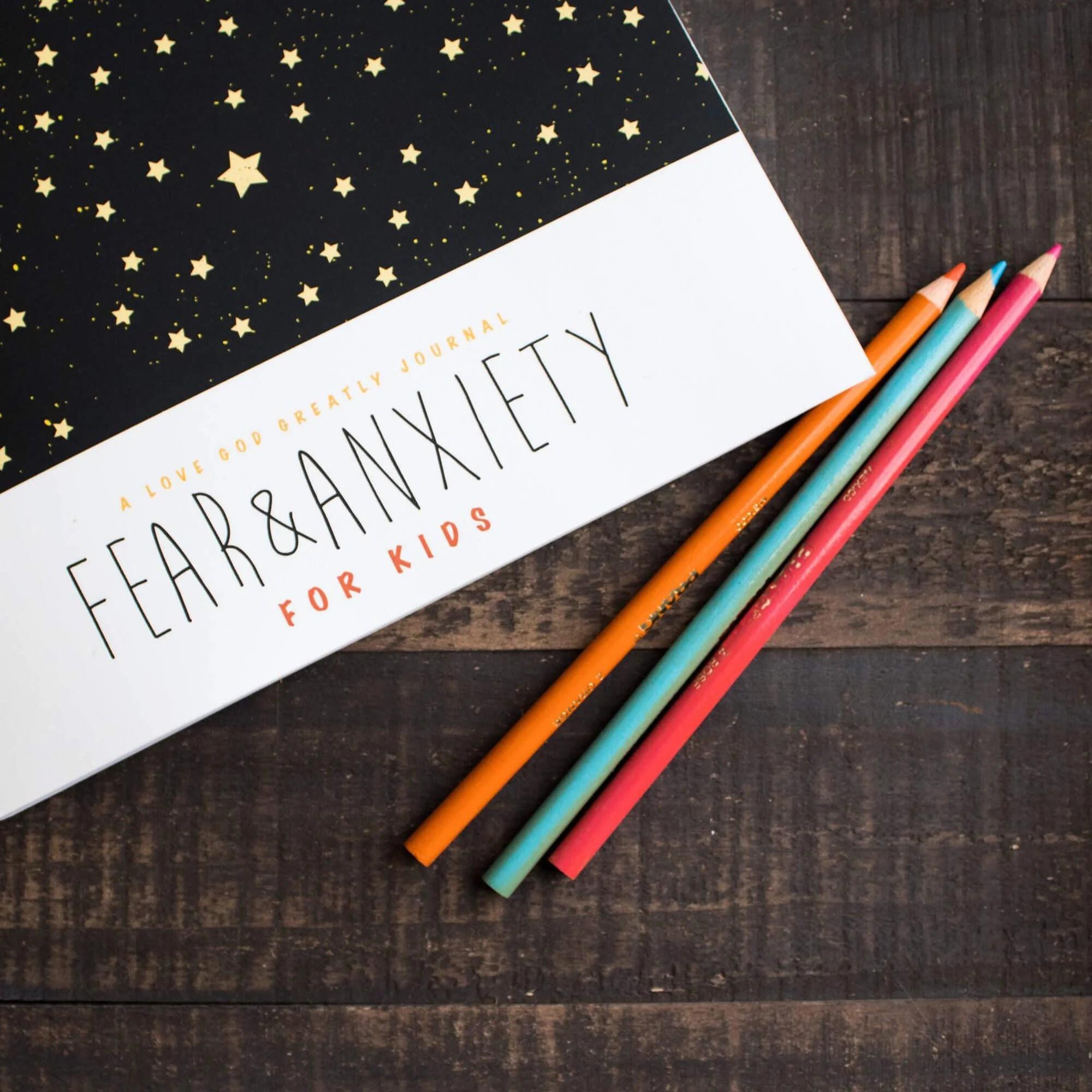 Fear Amp Anxiety Kids Bible Study Journal English