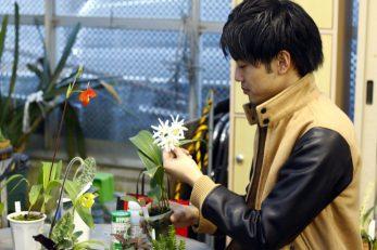 清水 柾孝さん、ありがとうございました! 美しい洋ランの世界を知って、より魅了されました。