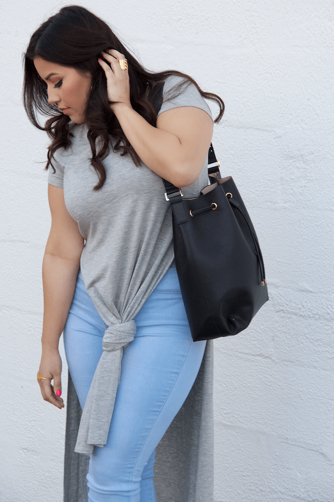 H&M Bucket Bag Casual Style