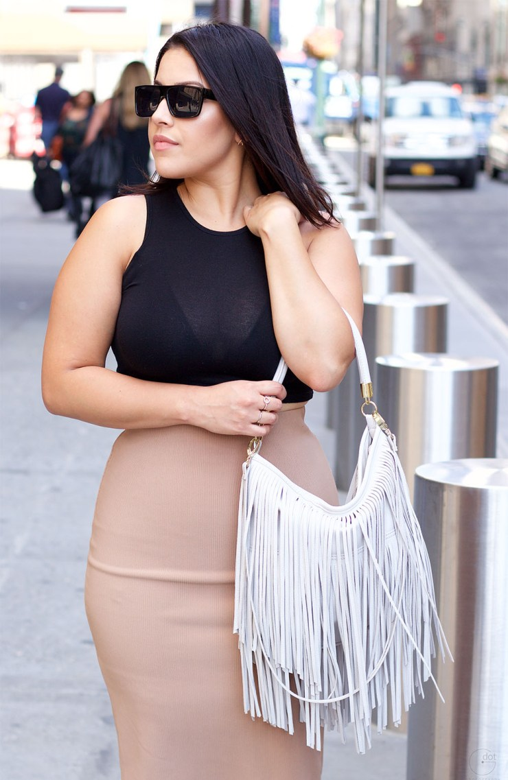 H&M Fringe Hand Bag