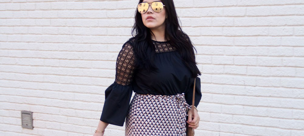 The Wrap Skirt You NEED Right Now