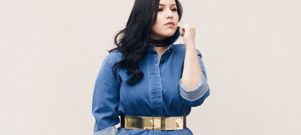 How To Wear Your Denim Jacket as a Dress