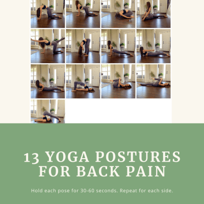 13 Yoga Postures for Back Pain