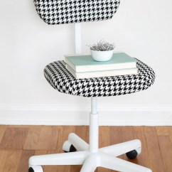 Desk Chair Diy Cheap Dining Chairs Set Of 6 Office Makeover Love Grows Wild A Thrift Store Find Turned Into Sleek And Stylish New See