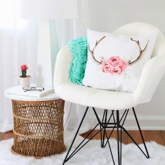 Office Chair Rug Round Breakfast Table And Chairs Reading Nook Love Grows Wild A Comfy Faux Fur Cute Pillows Lamp All
