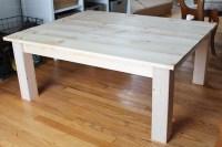 DIY Farmhouse Coffee Table - Love Grows Wild