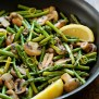 Asparagus And Mushrooms In Lemon Thyme Butter Love Grows