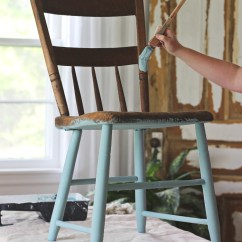 Old Wood Chairs Hon Office Guest Painted Chair For Outdoors Love Grows Wild Step By Instructions Painting Furniture In A Gorgeous Antique Finish See