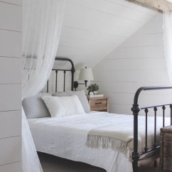 How To Make Living Room Curtains Folding Chair Wood Beam And Lace Love Grows Wild This Cozy Sleeping Nook Was Created By Adding A Faux Over
