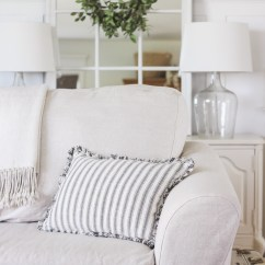 Living Room Slipcovers White And Grey Ideas A Comfort Works Review Love Grows Wild Cozy Farmhouse With Beautiful Linen Slipcovered Sofas See How To Get This