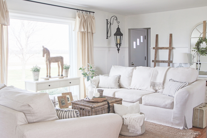 living room slipcovers color schemes light brown couch a comfort works review love grows wild cozy farmhouse with beautiful linen slipcovered sofas see how to get this