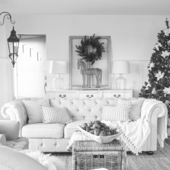 Beautiful Living Rooms At Christmas Room Setup Ideas With Fireplace Farmhouse Love Grows Wild A Decorated For The Holidays