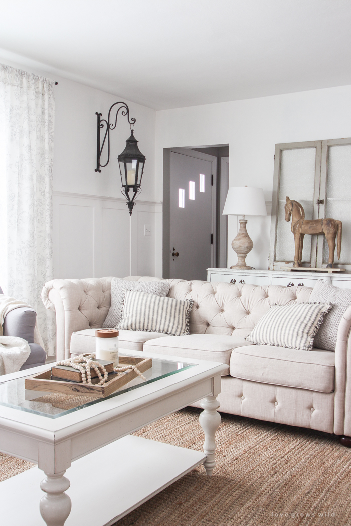 Winter Living Room Refresh Love Grows Wild