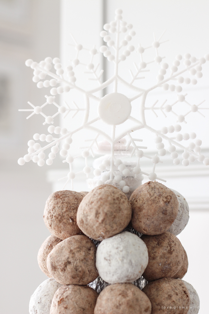 How To Make A Donut Hole Tree Love Grows Wild