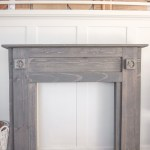 Painted Mantel Makeover Love Grows Wild