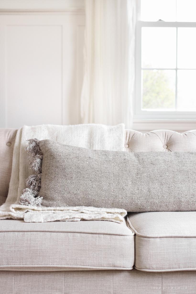 Decorating Essentials Lumbar Pillows  Love Grows Wild